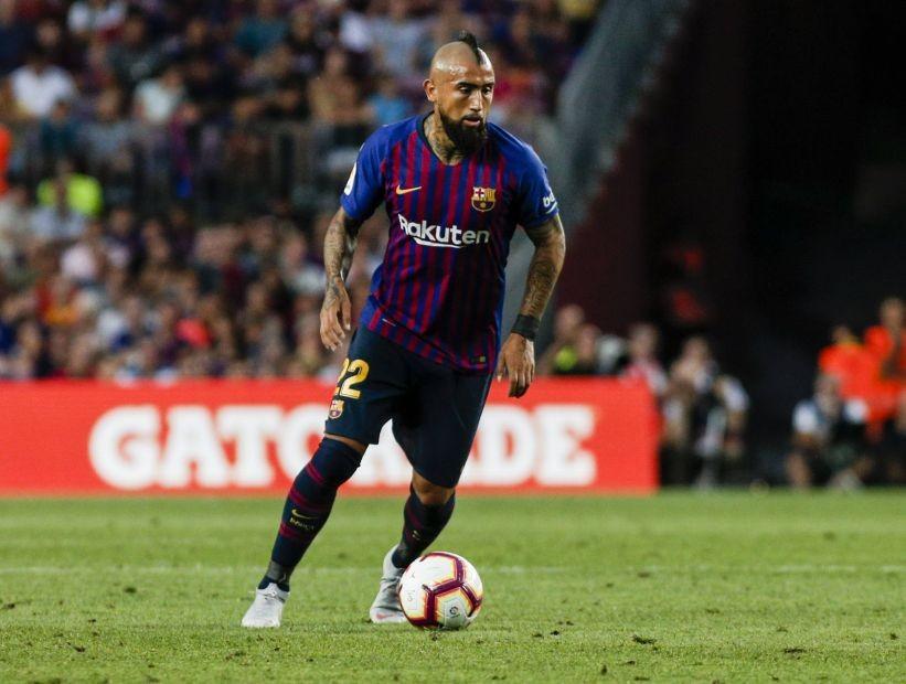 Arturo Vidal fue citado para el duelo ante la Real Sociedad