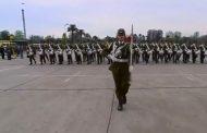 Cabo fue la primera mujer tambor mayor del Escalon Carabineros de Chile en la Parada Militar