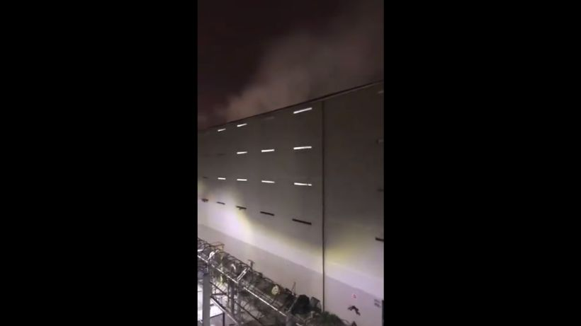 [VIDEO] Denuncian incendio al interior de cárcel Santiago 1