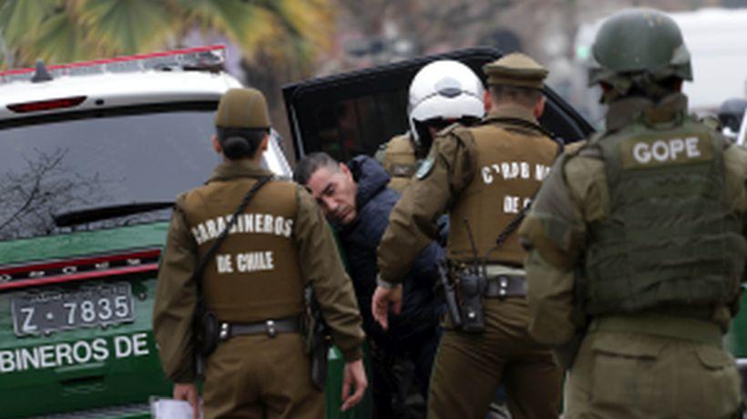 En Chile hay 84 prófugos y más de 13 mil personas con órdenes de detención