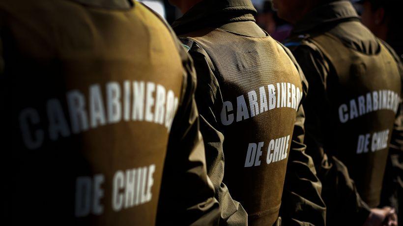 Carabineros disparan a delincuentes que intentaron atropellarlos en Quilicura