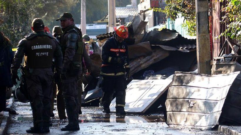 Incendio dejó tres personas fallecidas en San Ramón