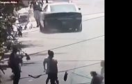 [VIDEO] Auto de Carabineros atropelló a transeúnte en Lampa