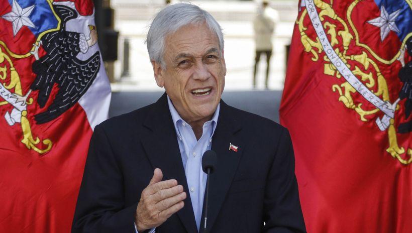 Sebastián Piñera citó a parlamentarios de Chile Vamos para una reunión en La Moneda