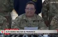 """[VIDEO] Fuerzas Armadas de Bolivia ante protestas: """"nunca nos enfrentaremos con el pueblo"""""""