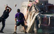 Procedimientos de Carabineros terminaron con detenidos por saqueos e incendios en el centro de la capital
