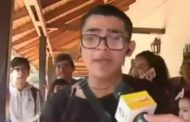 [VIDEO] Joven sorprendió con rap político durante transmisión en vivo de matinal