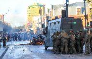 Ataques a comisarías e incendios: Carabineros realizó nuevo balance de manifestaciones durante este viernes