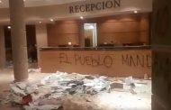 Saquean e incendian hotel Costa Real en La Serena