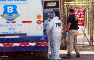 Asalto y fuga: roban camión de valores en La Granja
