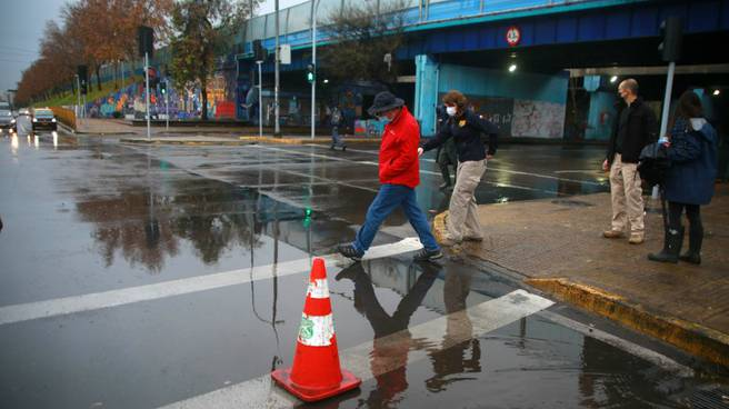 Intendente Metropolitano realiza balance por lluvias en la capital