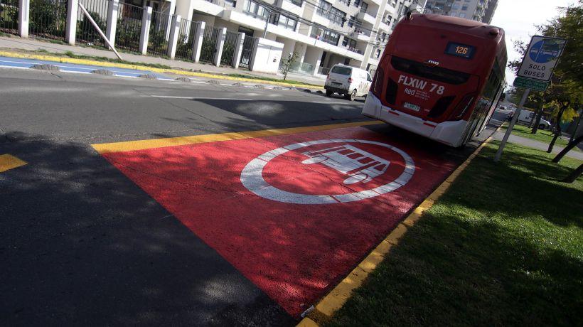 """MTT implementa 109 kilómetros de nuevas pistas solo bus para Plan """"Paso a Paso"""""""