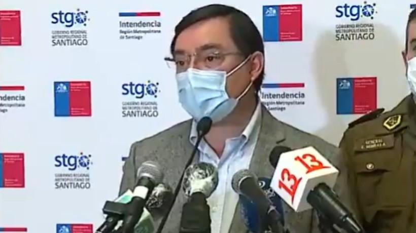 """Guevara por hombre con lesión ocular durante incidentes en Peñalolén: """"No tendría relación la unidad militar con los hechos denunciados"""""""