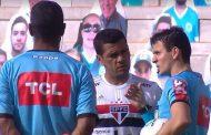 Increíble: partido entre Sao Paulo y Goias es suspendido con jugadores ya en la cancha por masivos contagios de Covid-19