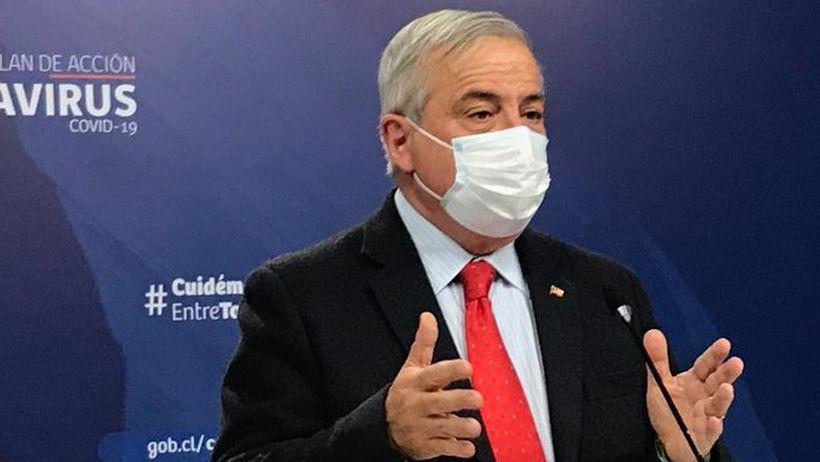 """Mañalich defendió su gestión de la pandemia: """"Teníamos que lograr que el brote de esta enfermedad no hiciera colapsar la capacidad hospitalaria"""""""