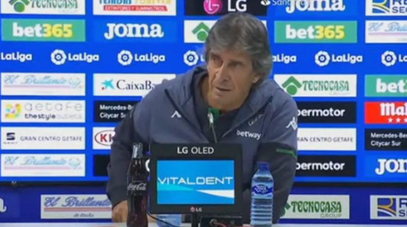 Abrieron expediente contra Pellegrini por dichos tras derrota del Betis ante el Real Madrid