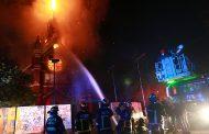 Armada confirmó que integrante de la institución fue detenido en relación al incendio de iglesia San Francisco de Borja