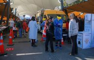 Autoridades fiscalizaron ferias libres en fin de semana de cuarentena en RM