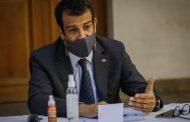 Ministro del Interior Rodrigo Delgado dio positivo a Covid-19