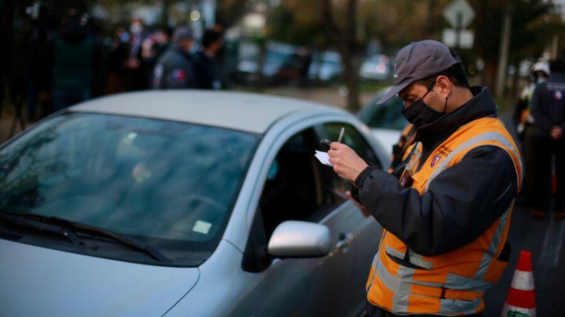Hoy comenzó la restricción vehicular en la Región Metropolitana