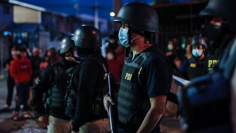 PDI arrestó a sospechosos del homicidio de subinspectora ocurrido en La Pintana