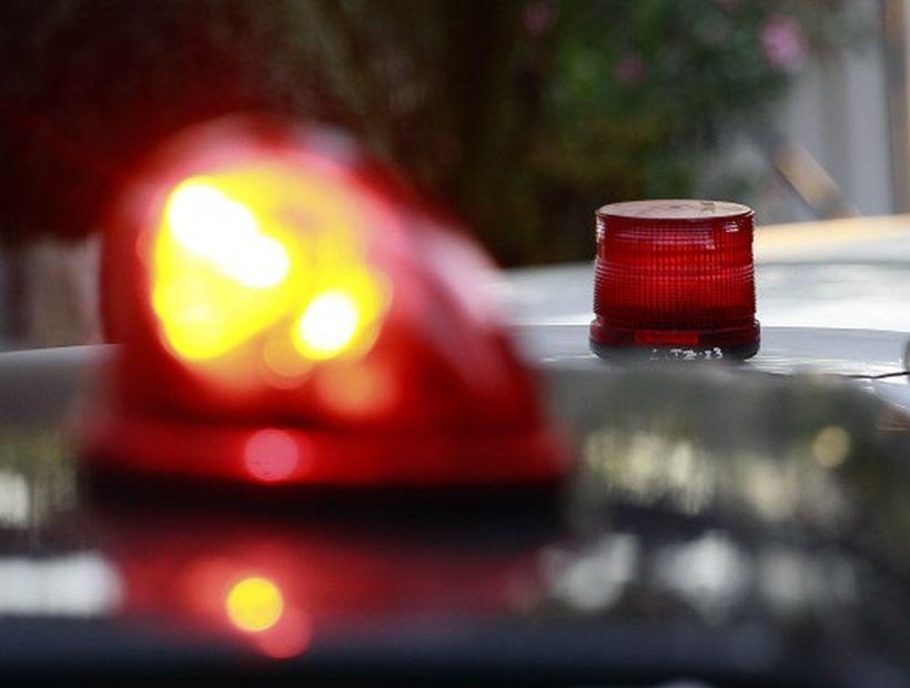 Joven de 18 años falleció en Conchalí: auto en el que viajaba volcó en autopista
